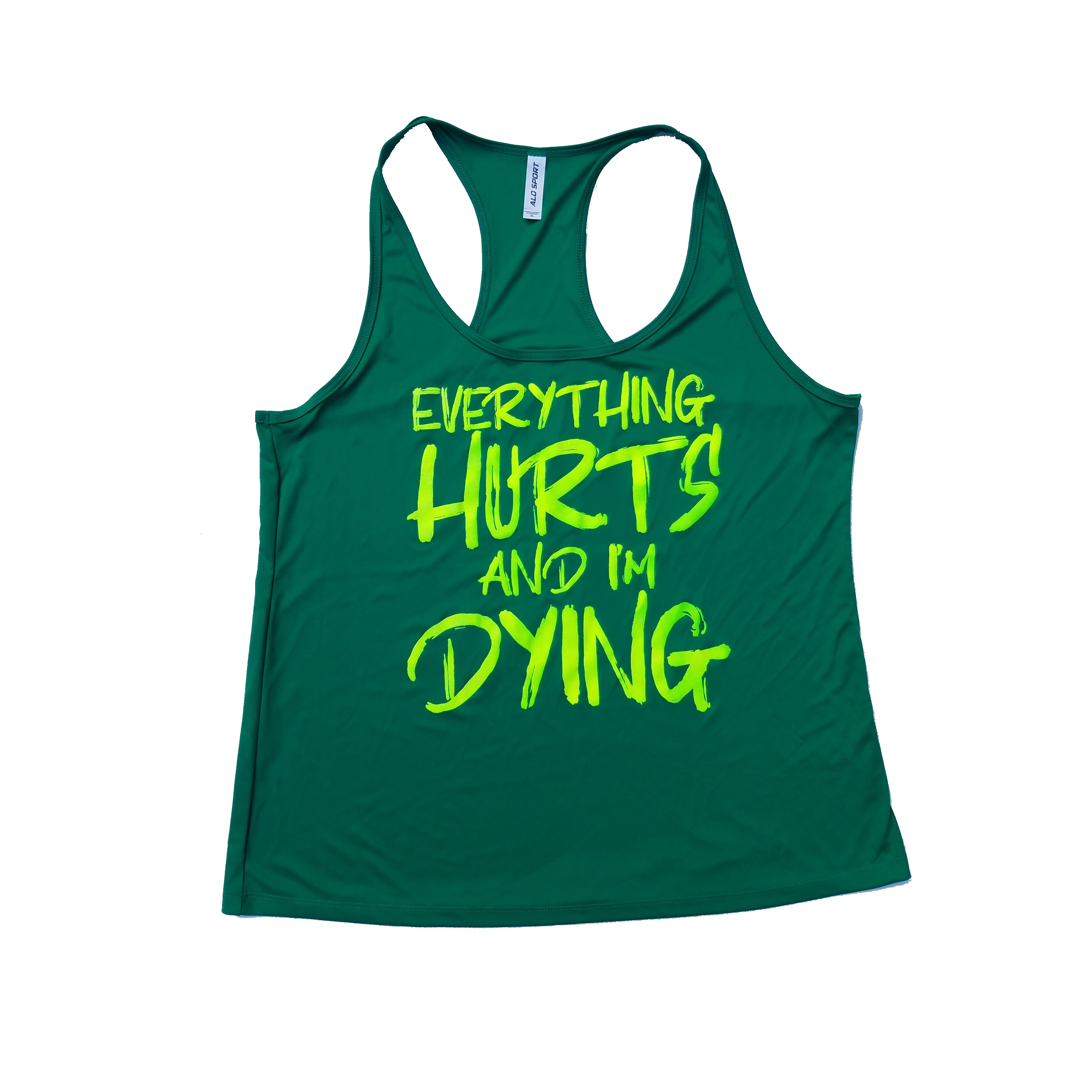 Everything Hurts Women's Dry Fit Tank Top
