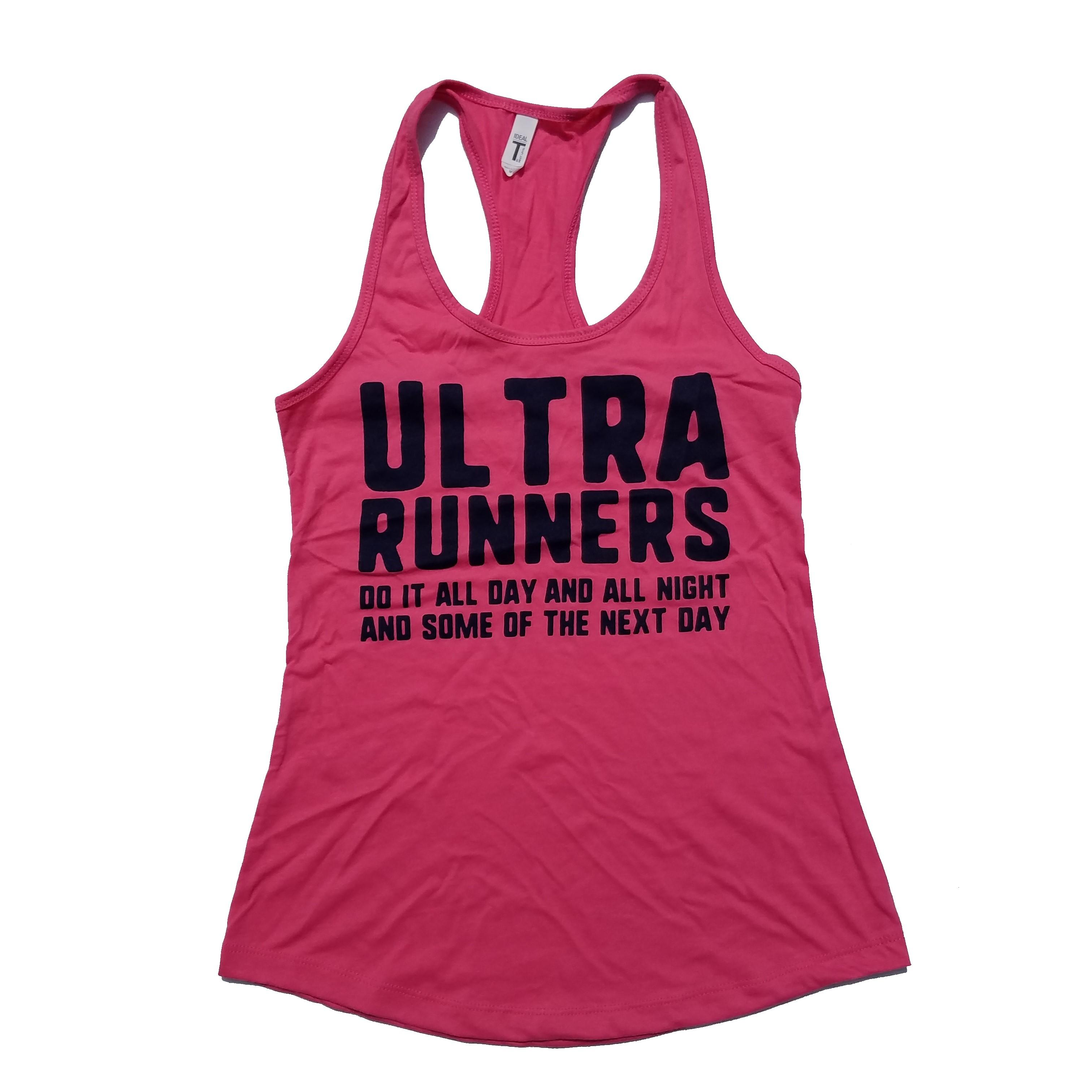 Ultra Runners Pink Tank