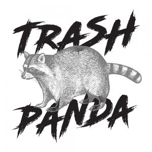 trash panda raccoon mountain awesomesauce